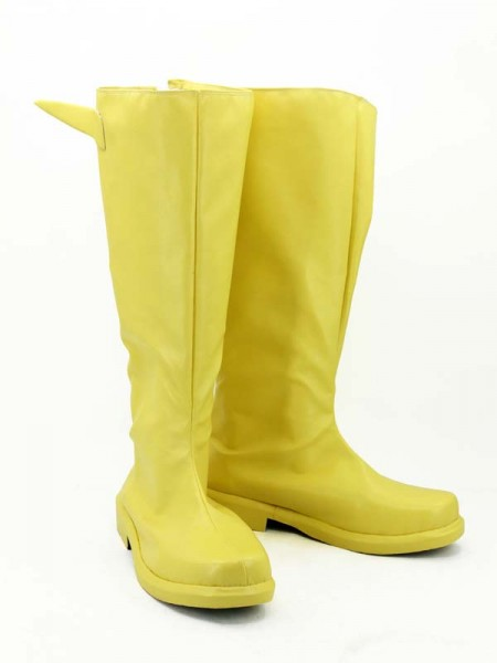 Botas Amarillas de Flash Cosplay