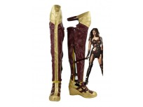 Batman v Superman: Dawn of Justice Wonder Woman Diana Cosplay Boots