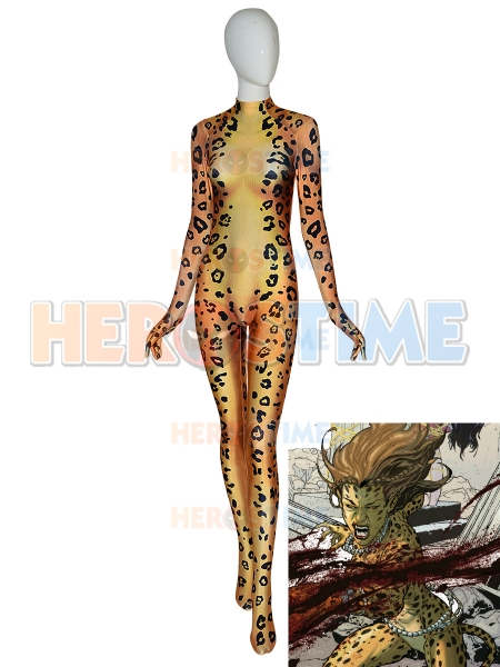 Wonder Woman 1984  Disfraz de Cheetah Super Villana Cosplay