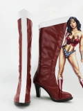 Wonder Woman The Justice League Superhero High Heels Superhero Boots