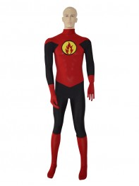 Custom Red Green Lantern Design Superhero Costume