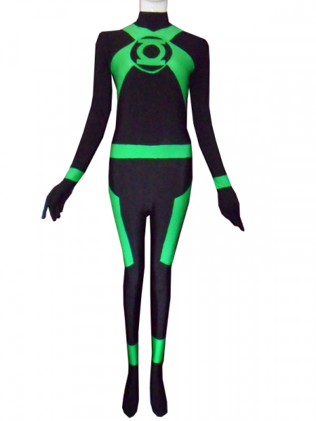 Green Lantern Corps Green Lantern Spandex Superhero Costume