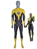 Yellow Lantern Costume Sinestro Corps Supervillain Suit
