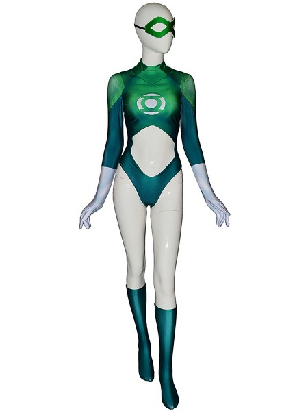 Green Lantern Costume Arisia Rrab Halloween Costume