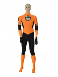 Orange Lantern Custom Spandex Superhero Costume