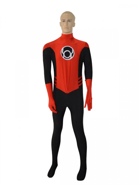 Traje de Red & Black Lantern Crops Cosplay