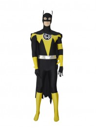 Yellow Lantern Batman Custom Superhero Costume