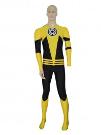Yellow Lantern Sinestro Corps Custom Superhero Costume