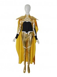 Yellow Lantern Super Cool Superhero Costume