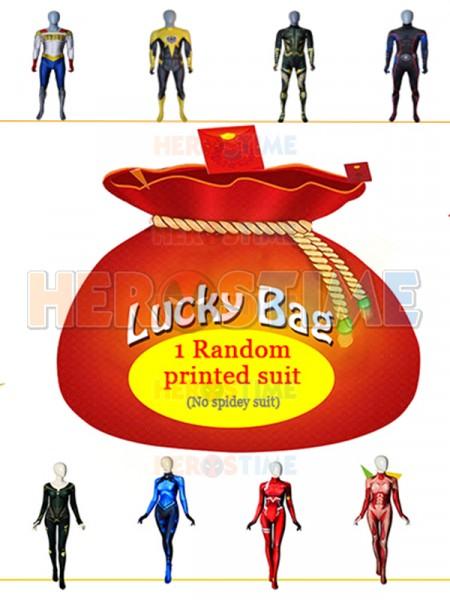 Disfraz de Lucky Bag Xmas 2019 impreso al azar