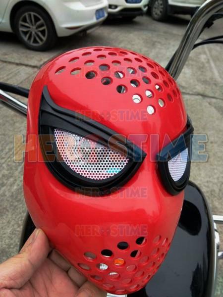 Careta Rojo de Spiderman de Resina