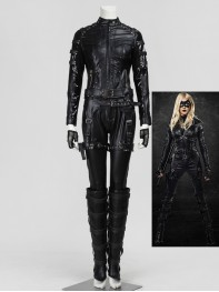 Arrow Black Canary Katie Cassidy Cosplay Costume