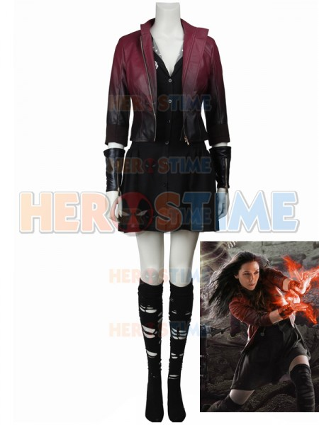 Avengers: Age of Ultron Scarlet Witch Cosplay Costume