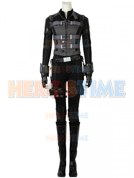 Black Widow Avengers Infinity War Version Cosplay Costume