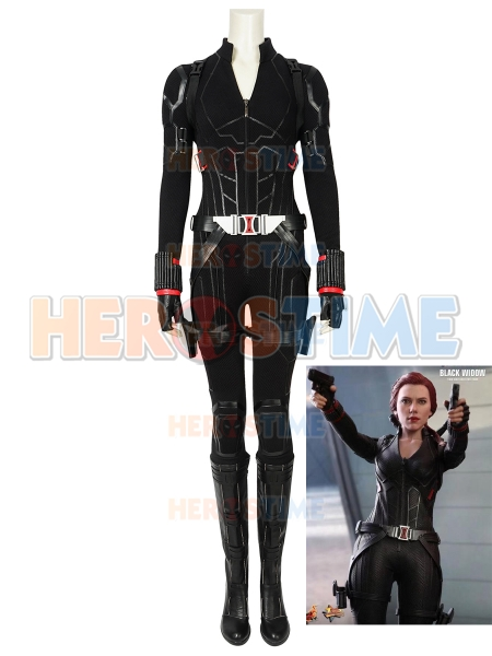Avengers Endgame Black Widow Movie Cosplay Full Suit