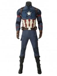 Captain America Cosplay Avengers: Endgame Steven Rogers Cosplay Costume