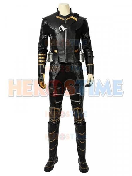 Avengers Endgame Clinton Barton Hawkeye Cosplay Full Suit