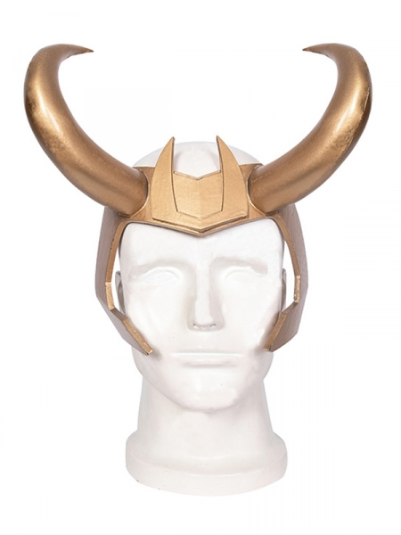 Loki temporada 1 Cosplay Loki Cosplay Máscara de PVC
