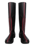 Scarlet Witch Shoes Wandavision Finale Cosplay Boots