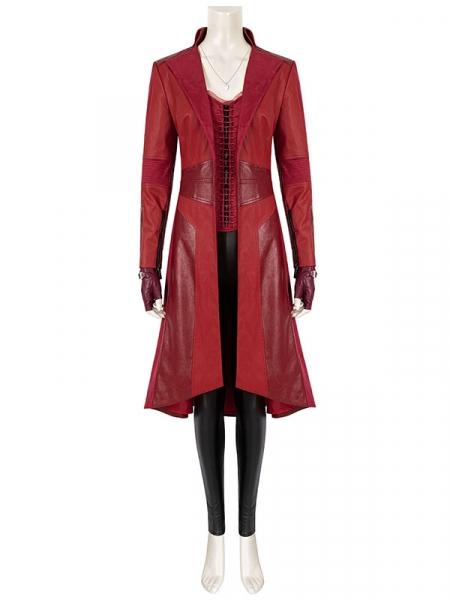 Captain America Civil War Scarlet Witch Wanda Cosplay Costume