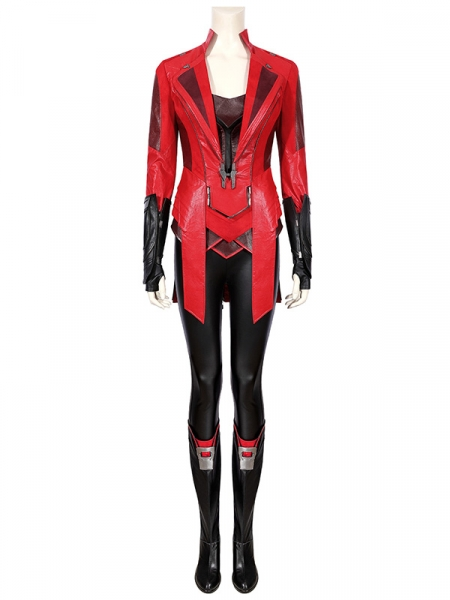 Scarlet Witch Costume Captain America Civil War Cosplay Full Set