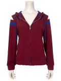 Scarlet Witch Costume Wandavision Finale Cosplay Hoodie