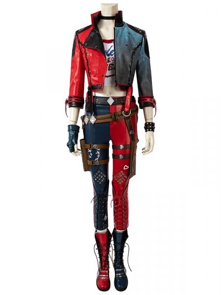 Disfraz de Cosplay de Harley Quinn de Suicide Squad Kill the Justice Leaguen