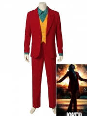 Joker 2019 Red Suit Full Set Joker Costume