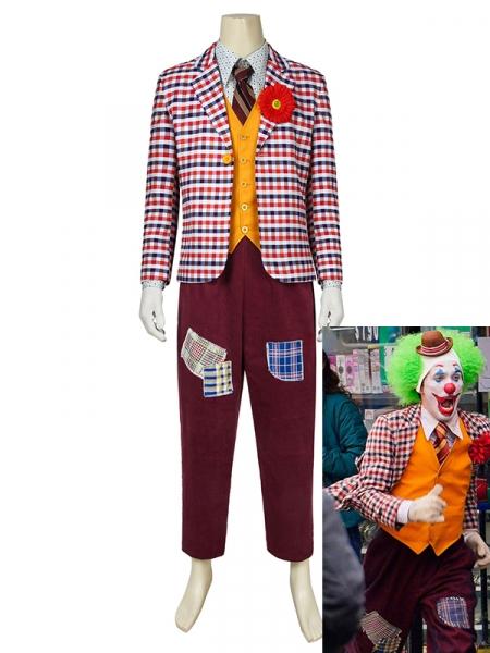 JOKER Costume Arthur Fleck Cosplay The Joker Full Set