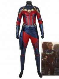 Captain Marvel Costume Avengers Endgame Cosplay Costume