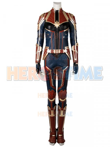 Captain Marvel Suit Captain Marvel Film Disfraz de Halloween Set completo