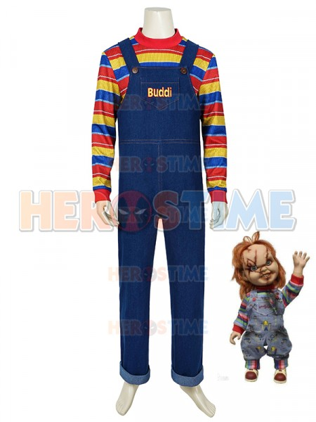 Child's Play Cosplay Buddi Costume