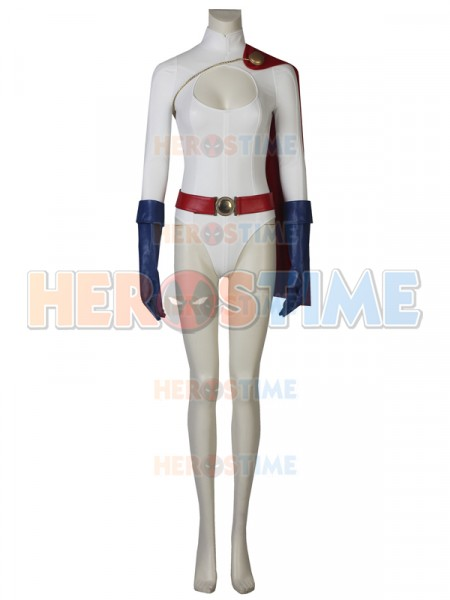 Power Girl Karen Starr Deluxe Cosplay Costume
