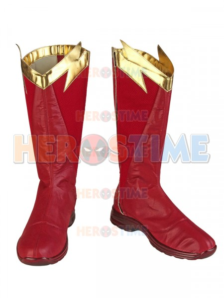 The Flash Season 5   Botas de Flash Barry Allen Cosplay