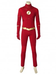 Flash Suit The Flash Season 5 Barry Allen Cosplay Costume