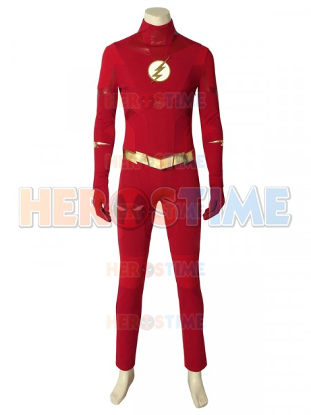 The Flash Season 5  Traje de  Flash Barry Allen
