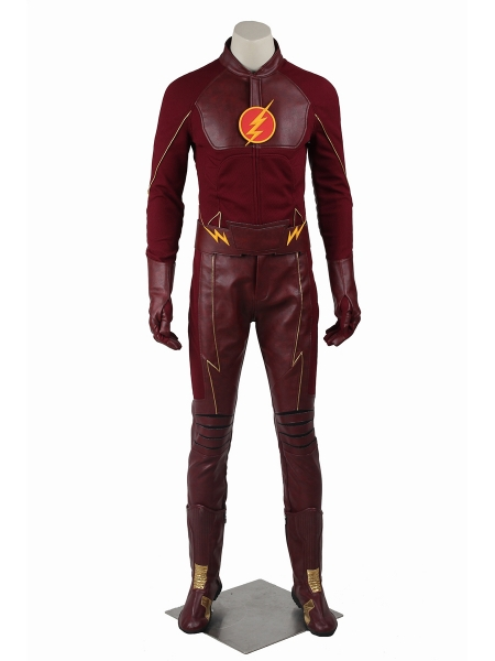 The Flash Season 1  Traje Lujoso de Flash para Hombres
