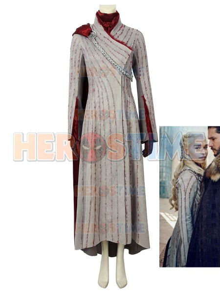 Daenerys Targaryen Costume Game of Thrones Season 8 Cosplay Mother of Dragons Full Set