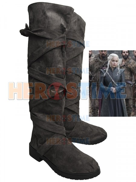 Game of Thrones 7 Daenerys Targaryen Cosplay Boots