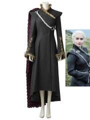 Daenerys Targaryen Costume Game of Thrones 7 Mother of Dragons Cosplay Costume