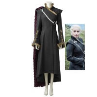 Daenerys Targaryen Costume Game of Thrones 7 Mother of Dragons Cosplay Costume