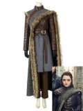 Arya Stark Costume Game of Thrones Season 8 Cosplay Costume