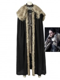 Jon Snow Costume Game of Thrones Season 8 Cosplay Costume