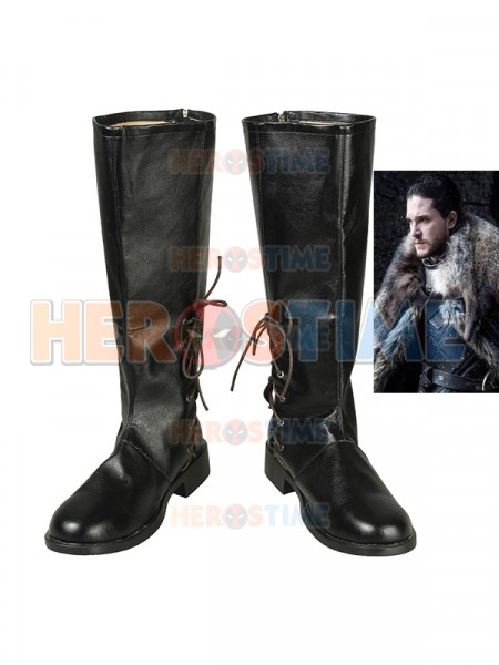 Game of Thrones Season 8 Jon Snow Cosplay Boots