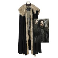 Game of Thrones Season 8 Cosplay Jon Snow Cosplay Costume