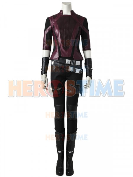 Guardians of the Galaxy 2 Gamora Short Version Cosplay Suit