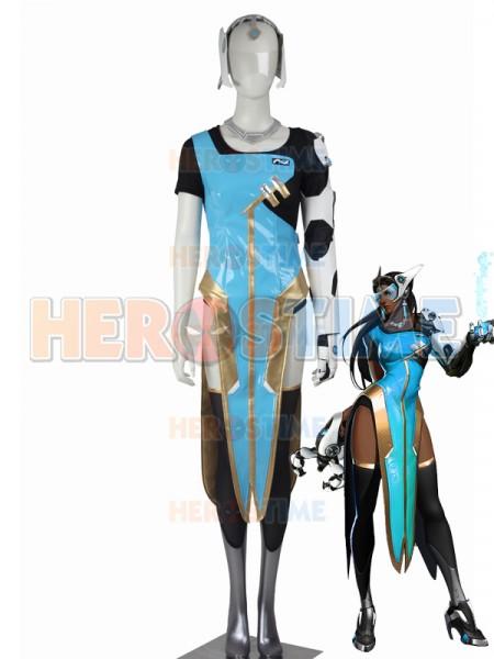 Overwatch Girls' Costume Symmetra Cosplay Suit