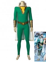 Pedro Shazam Family Captain Thunder High-end Cosplay Costume