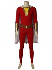 Shazam! Freddy Freeman Suit Captain Marvel Cosplay Costume