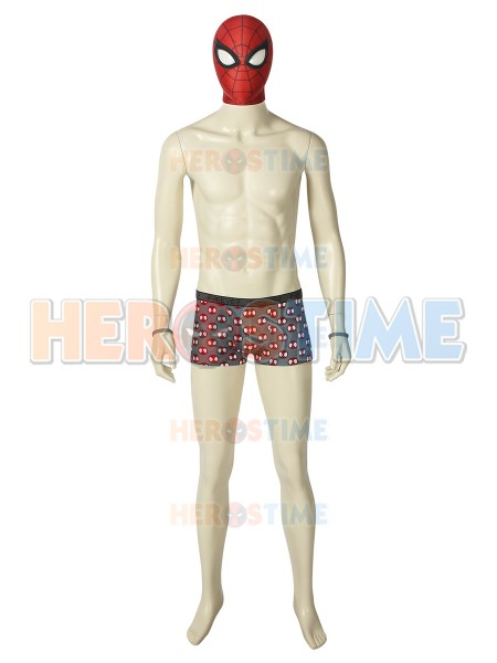 Undies Peter Parker Suit Spider-Man PS4 Games Cosplay Costume
